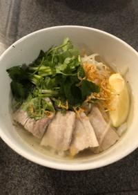 朝食!002:豚のさっぱりベトナムフォー