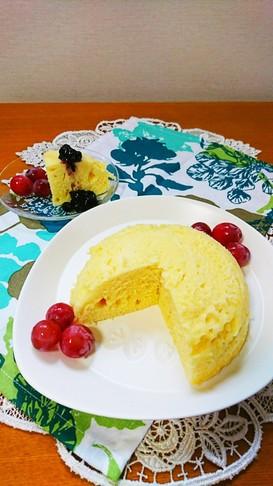 簡単☆ ホットケーキミックス♪蒸しパン