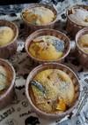 バター無しで簡単 かぼちゃのカップケーキ