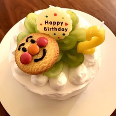 アンパンマン★バースデーケーキ