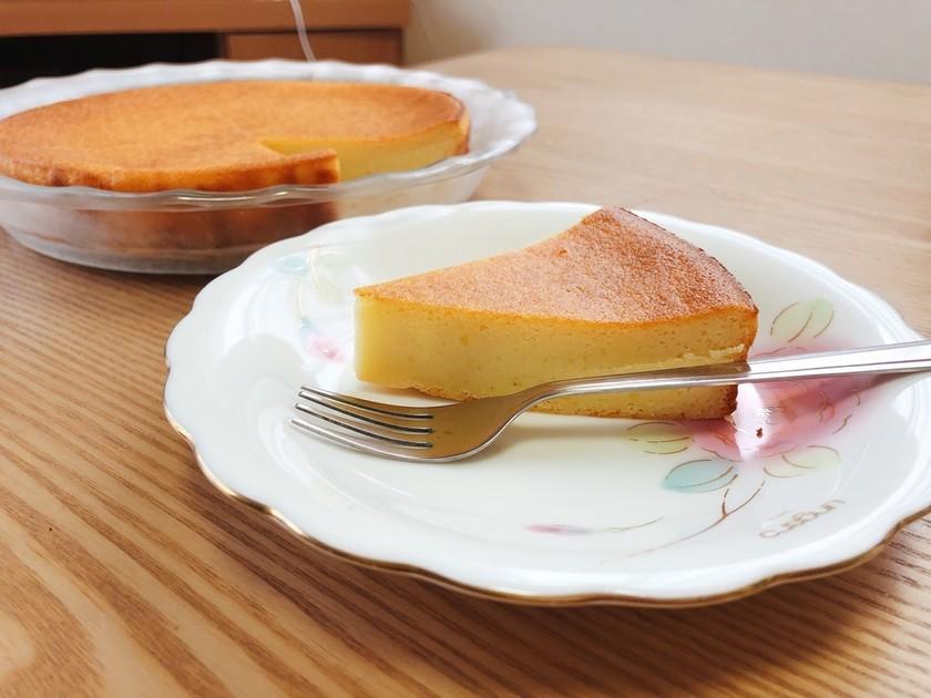 濾さない*混ぜるだけ*さつまいもケーキ