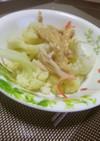 カリフラワーのピリ辛ごま味噌マヨかけ