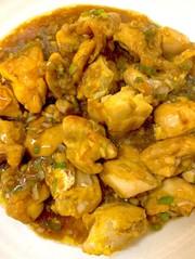 ピカタ風甘酢鶏肉の写真