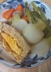 かぶと卵入り厚揚げの煮物