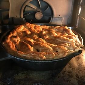 ニトスキで簡単紅玉のアップルパイ