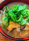 キノコと大根の味噌汁
