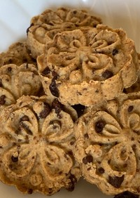 ザクザク食感・オリーブオイルクッキー