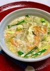 白菜とカニカマの中華スープ★簡単