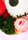 簡単♪ちくわとハムのお花♪