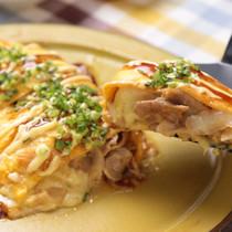 白菜たっぷり♪とろ〜りチーズの豚ぺい焼き