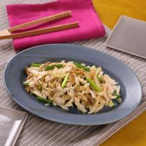 ささみと白菜の中華風コールスローサラダ