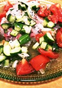 真鯛のバジルマリネ風☆米酢でつくる前菜