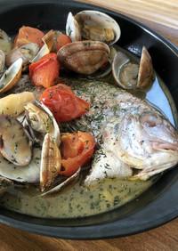 美味★小鯛のアクアパッツァ