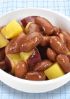 ☆うずら豆とさつまいもの煮物☆