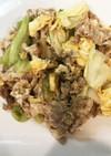 簡単★豚バラ肉とキャベツと卵の中華炒め