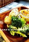 ササミ☆ブロッコリー☆煮玉子のサラダ♪♪