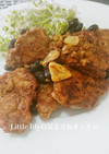 豚ヒレと黒豆のバルサミコ酢ソテー