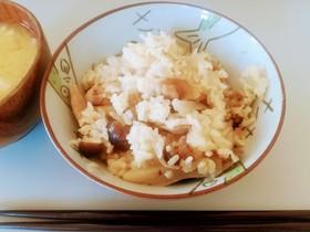 簡単炊き込みご飯~鶏~