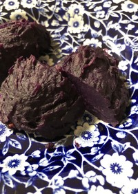 紫イモのスイートポテト
