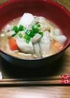 根菜と里芋の芋の子汁✨(^q^)☺⛄