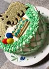 ケーキ 恐竜 簡単