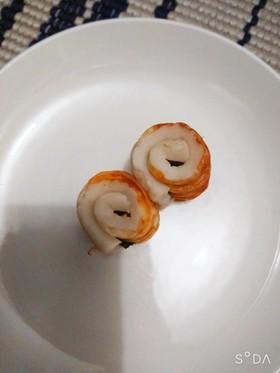 お弁当のおかず!ちくわの海苔巻き♪