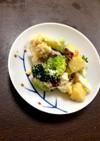 さつま芋のゴロゴロサラダ♡ササミ♡茹で卵