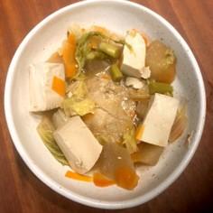 野菜たっぷり鶏肉1枚丸ごと和風煮