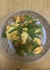 卵とニラのキムチ炒め