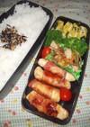 野菜たっぷり男子弁当 86