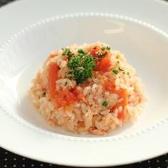 ☆簡単☆トマトの洋風炊き込みご飯