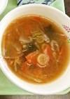 ピリ辛みそラーメンスープ