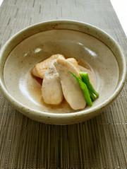 【野菜ソムリエ】こえびちゃんと鶏肉の煮物の写真
