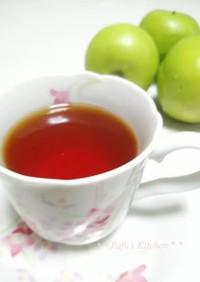 簡単!!アップルジュースで林檎紅茶♡