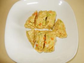 簡単朝ごはん!野菜入り卵焼き