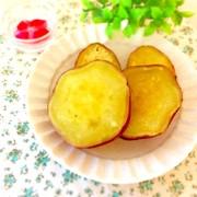レンジで甘い焼き芋風の写真