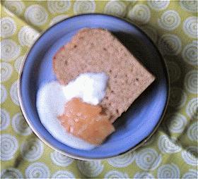 むき栗と紅茶のシフォンケーキ