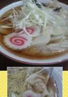 桜えびのワンタン麺