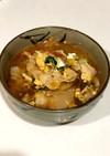 簡単ボリューム満点 豆苗 豚キムチスープ
