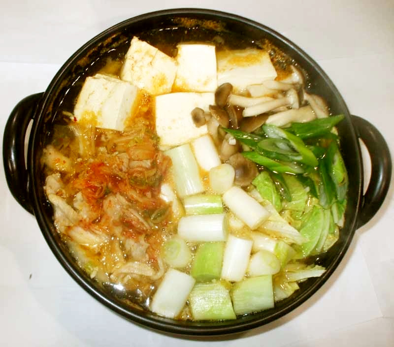 キムチ鍋♪簡単素なし