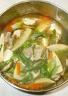 サンラータンスープ♪簡単
