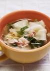 ☆簡単・美味しい♪包まない餃子スープ☆