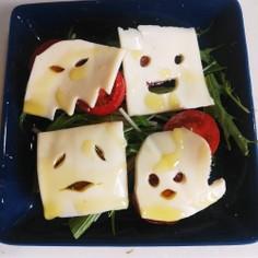 超簡単!ハロウィンチーズサラダ!