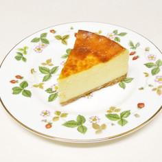手順がわかりやすい★ベイクトチーズケーキ