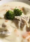 ヘルシー♡里芋と鶏モモ肉のクリーム煮
