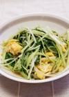 ☆甘辛たれで♪水菜と卵の炒め物☆