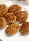 節約☆鶏肉豆腐ハンバーグ