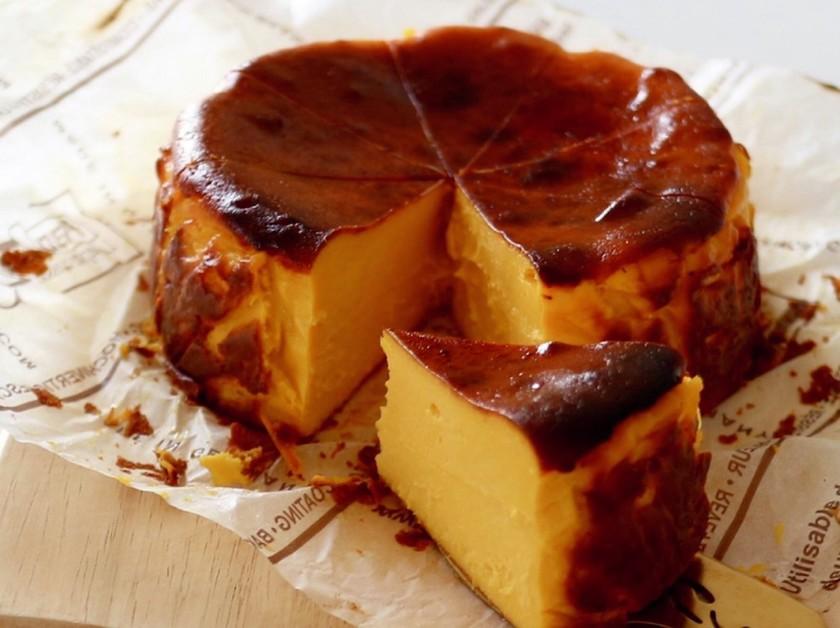 かぼちゃのバスクチーズケーキ