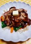 酢豚風トンテキ