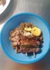 MrsWongちの愛犬用串焼き肉2種